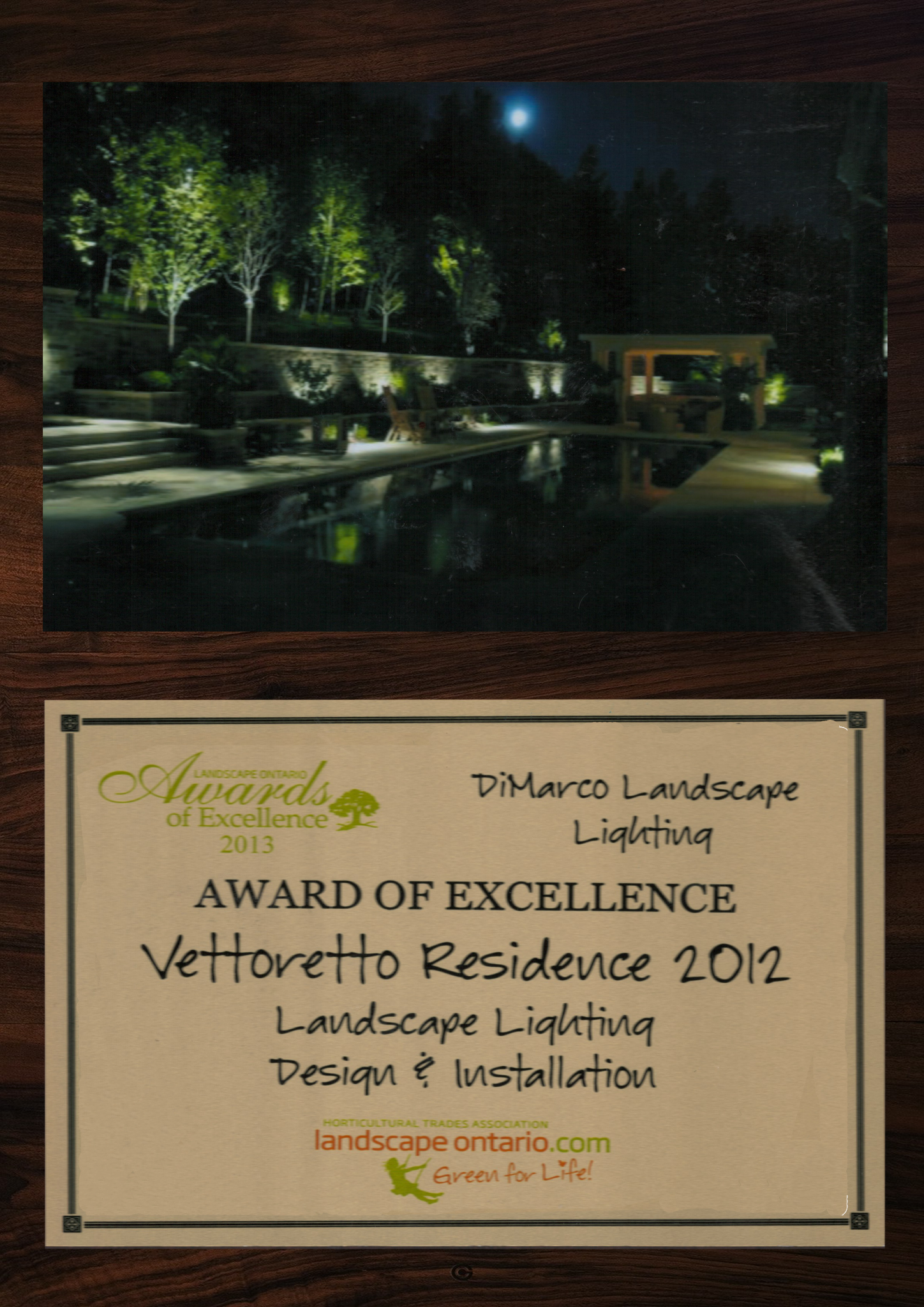 Home Dimarco Landscape Lighting Wiring Led Lights Some Of Our Awards